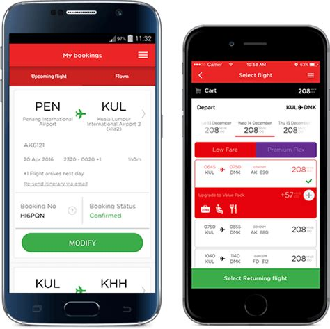 airasia online check in mobile grab our low fares on the go airasia mobile app airasia