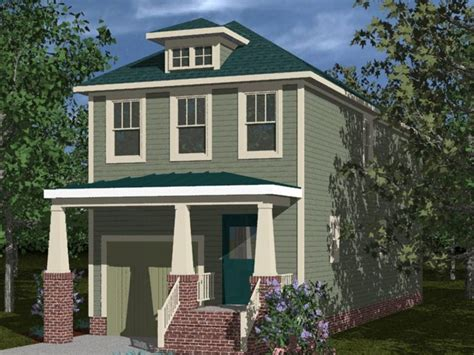 Bungalow House Plans For Narrow Lots by Lot Narrow Plan Bungalow House Bungalow Narrow Lot House