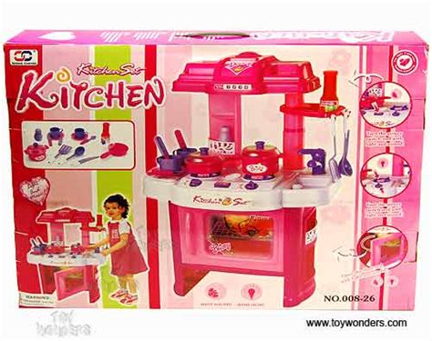 kitchen set picture to color kitchen play set w lights sounds 24 quot h 008 26