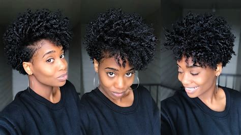 natural tapered bob bomb curly bob on tapered natural hair misskenk youtube