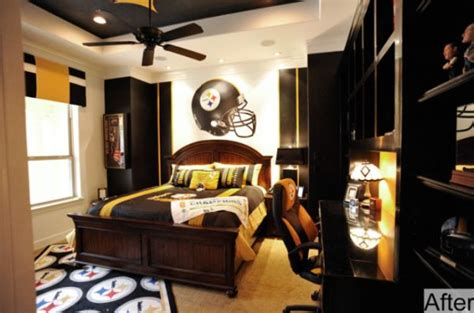 vintage sports themed boy s bedroom traditional 40 teenage boys room designs we love