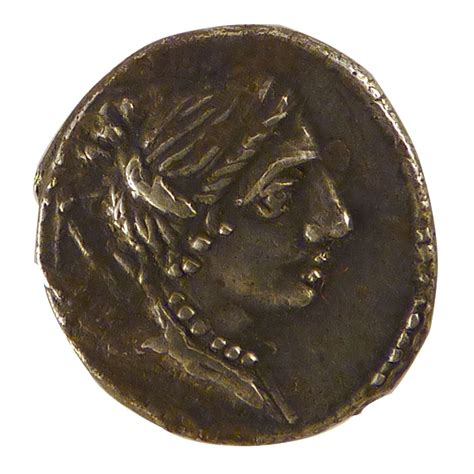Comptoir Des Monnaies by 10575 Postumia Denier Ttb Postumia Denier Plus De