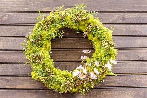 create  spring door wreath diy network blog