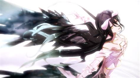 anime overlord albedo wallpaper and background image 1600x900 id 626858