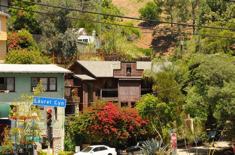 jim morrison house panoramio photo of la laurel canyon blvd jim morrison