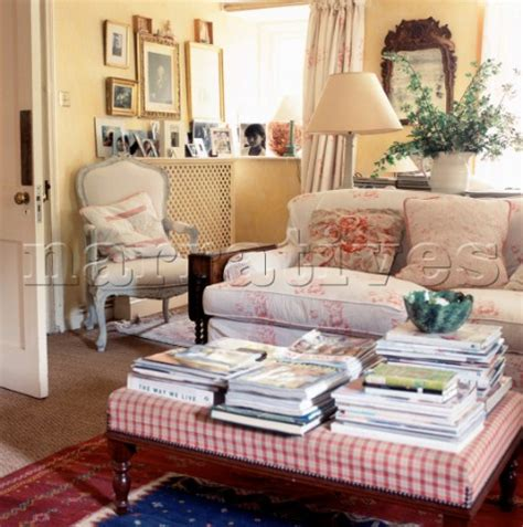 floral living room furniture living room country style interior design styles
