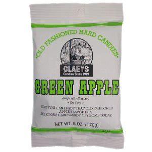 Tas Jelly Bag 558 Green Claeys Green Apple 6 Oz Bag