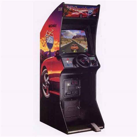 cruisin usa upright racing simulator driving games