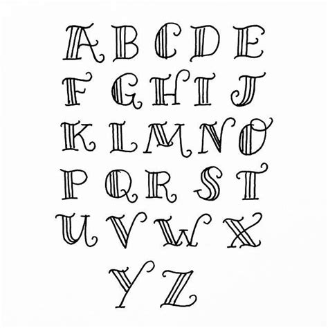 font design brief the 25 best hand lettering alphabet ideas on pinterest