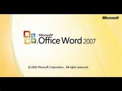 tutorial word 2007 bahasa indonesia tutorial microsoft office word 2007 bahasa indonesia