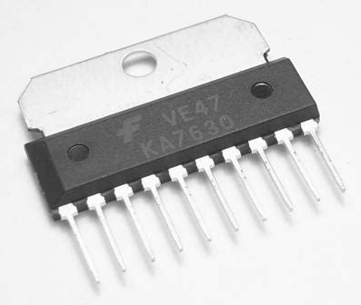 Multi Regulator Tv ka7630 ic fixed multi output regulator kp components inc