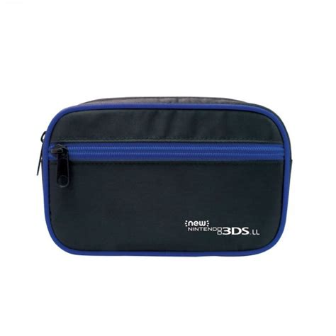Hori Pouch For New 3ds Xl new nintendo 3ds ll hori plenty pouch blue import from japan