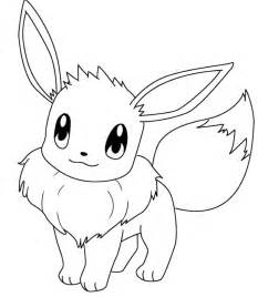eevee coloring pages eevee outline images images
