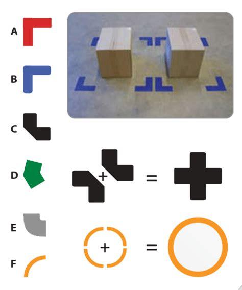 Ecken Block Formen by Durastripe Ecken Durastripe Formen Bodenmarkierung