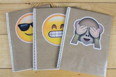 decorar fotos con emojis emojis diy decora tus cuadernos con ellos mia
