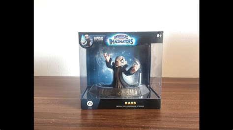 Kaos Limited unboxing skylanders imaginators kaos limited edition