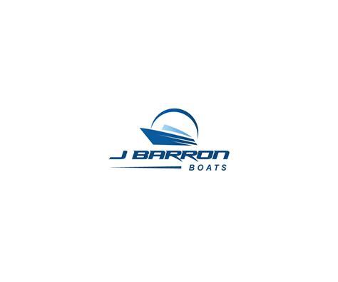 j barron boats bold personable manufacturer logo design for j barron