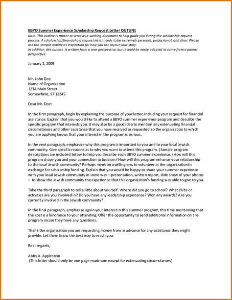 how to write cover letter for scholarship application scholarships letters sles resume and cover letter
