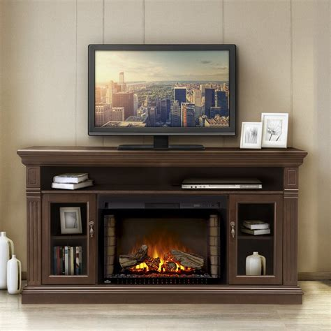 electric fireplace entertainment center pertaining to