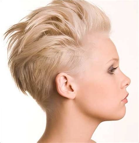 shaved pixie cut 15 very cool shaved pixie haircuts crazyforus