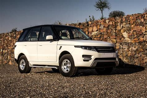 range rover modified tata safari modified into a range rover evoque