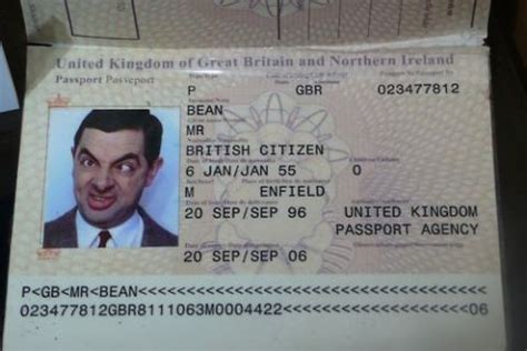 joke id card template picture passport photos