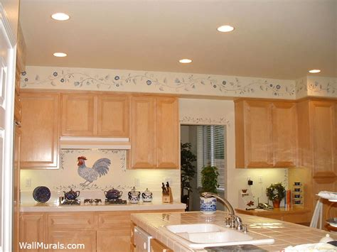kitchen wall murals kitchen murals painted kitchen wall murals borders