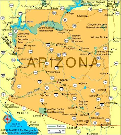 usa grand map 25 best ideas about map of arizona on