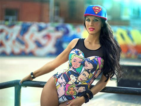wallpaper girl in cap the girl wearing a cap superman swag wallpapers and