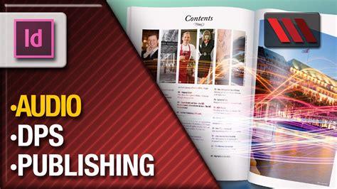 tutorial indesign digital publishing adobe indesign digital publishing suite placing audio
