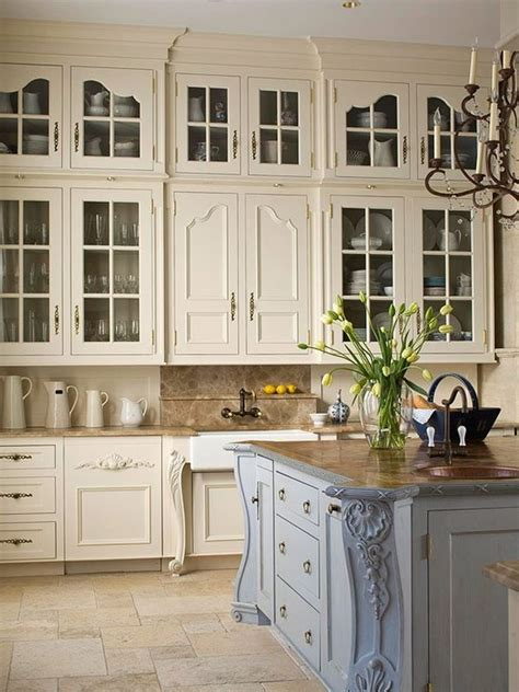 French Kitchen Cabinet | 20 ways to create a french country kitchen