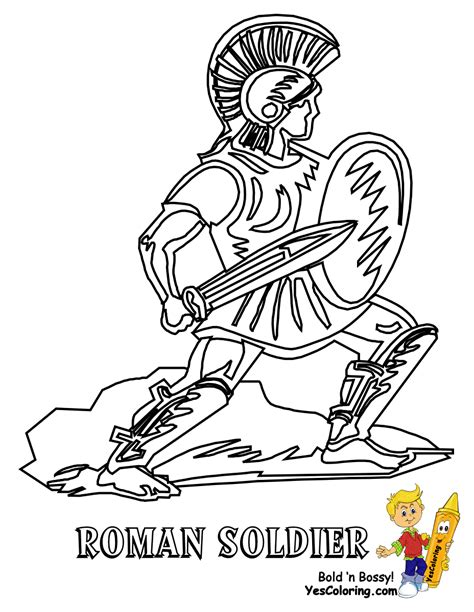 printable roman images historic army coloring page military army picture