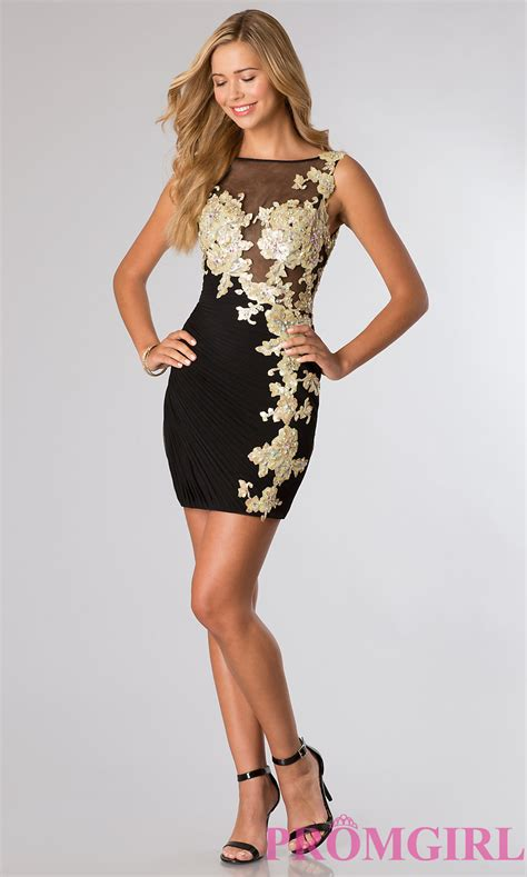Black Fold Dress black and gold dress dress fa
