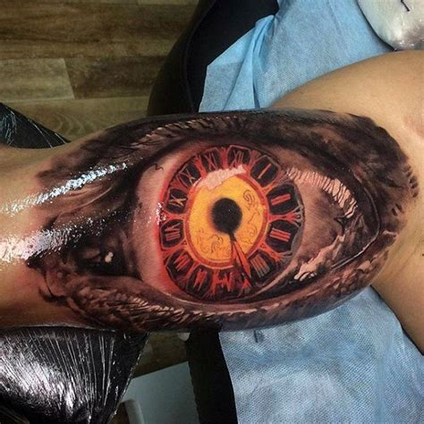 eyeball armpit tattoo 75 insane tattoos for men masculine ink design ideas