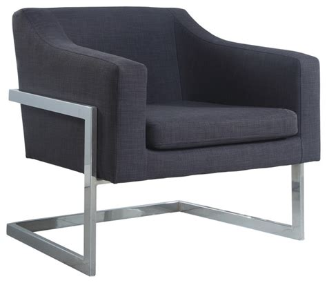 modern accent chairs for living room modern living room chrome gray fabric accent chair