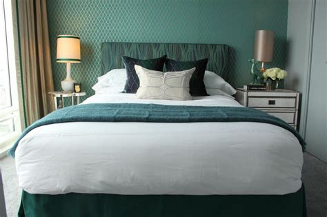 teal accents bedroom photo page hgtv