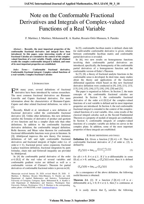 (PDF) Note on the Conformable Fractional Derivatives and