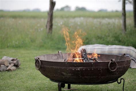 Rent A Big Beautiful Kadai Indian Fire Pit Plus Seating Large Firepits