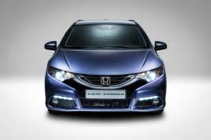 the honda civic tourer is sleek spacious and not coming