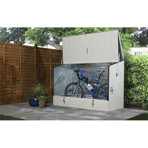 abri de jardin pour velo abri pour v 233 lo cycloprotect couleur cr 232 me votre abri de jardin
