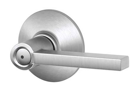 Lock For Bedroom Door schlage latitude satin chrome privacy lever f40lat 626