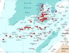 South China Sea Dispute Map by South China Sea May Hold 213 Billion Barrels Of Oil