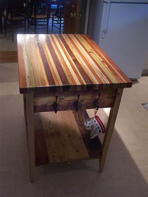 reclaimed butchers block butcher block kitchen island from reclaimed by