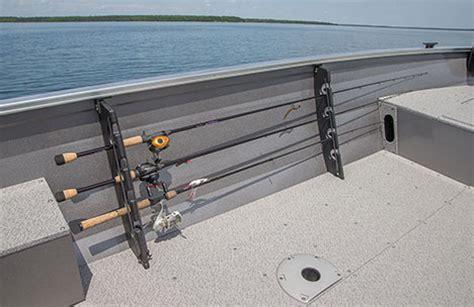 boat cabin rod holders crestliner s resort cabin fishing boats 1800 kodiak boat
