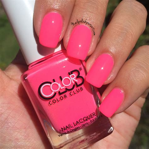 Poptastic Colours To Brighten Your Day by Color Club Poptastic The Polished Pursuit