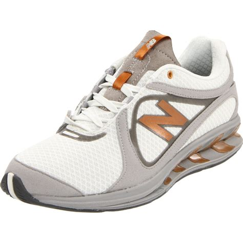 new balance womens ww855 truebalance toning shoe in gray metal grey lyst