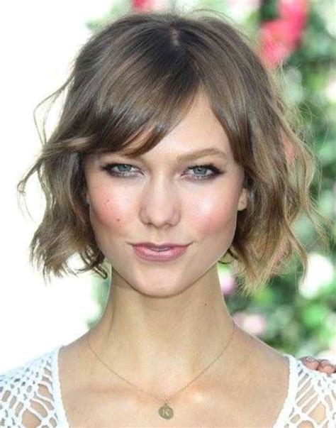 cute hairstyles for women with short necks 20 cute short haircuts for wavy hair short hairstyles