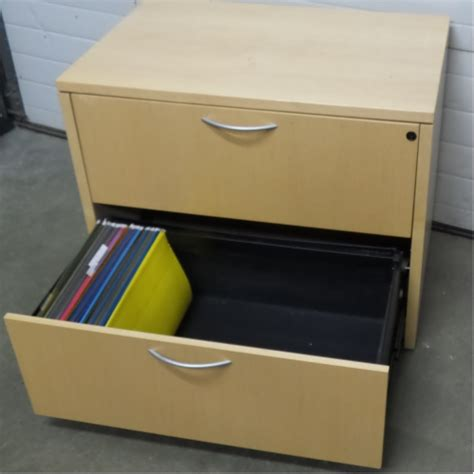 Locking Lateral File Cabinet 2 Drawer Lateral File Cabinet Locking Allsold Ca Buy Sell Used Office Furniture