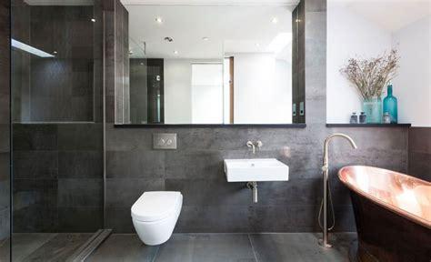 bagno moderno grigio 20 idee di arredamento bagno in grigio mondodesign it