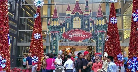 pavilion kl new year 2015 eat till tummy and new year decoration at